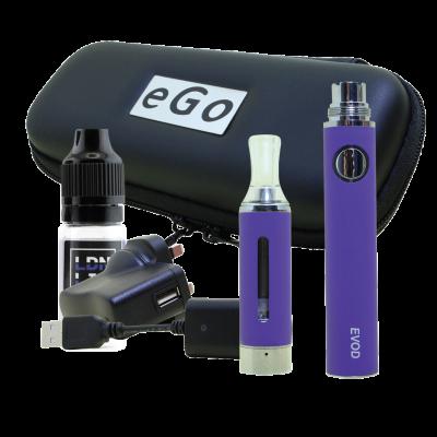 EVOD E-Cigarette Kit Purple