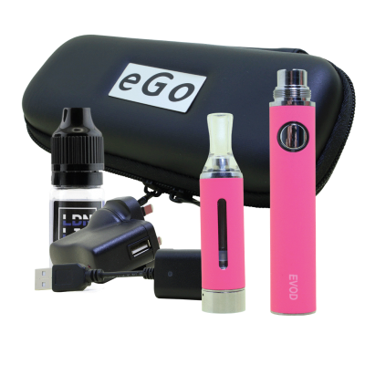 EVOD E-Cigarette Kit Pink