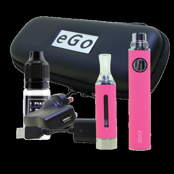 EVOD E-Cigarette Kit Pink