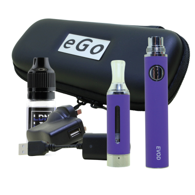 EVOD E-Cigarette Kit Purple