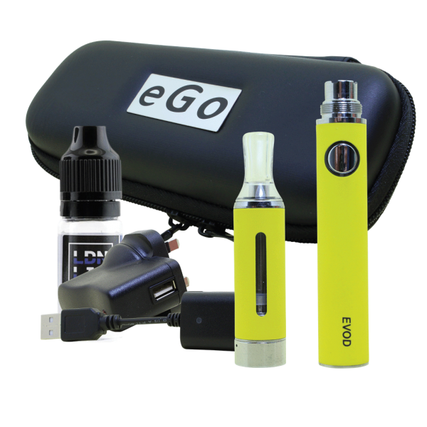 EVOD E-Cigarette Kit Yellow
