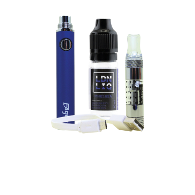 Eager E-Cigarette Kit Blue