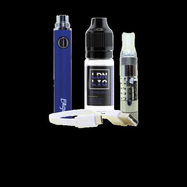 Eager E-Cigarette Kit Blue