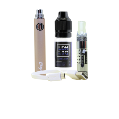 Eager E-Cigarette Kit Gold