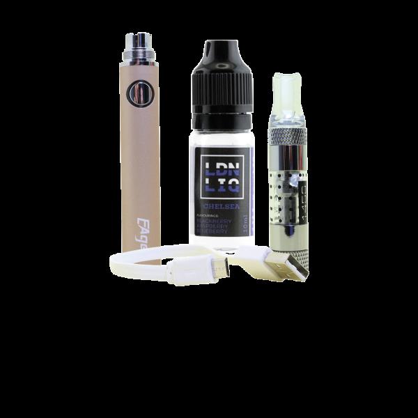 Eager E-Cigarette Kit Gold