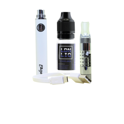Eager E-Cigarette Kit White